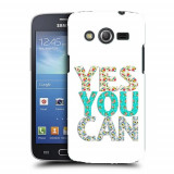 Husa Samsung Galaxy Core 4G LTE G386F Silicon Gel Tpu Model Yes You Can