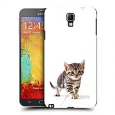 Husa Samsung Galaxy Note 3 Neo N7505 Silicon Gel Tpu Model Pisicuta - Husa Telefon