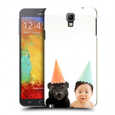 Husa Samsung Galaxy Note 3 Neo N7505 Silicon Gel Tpu Model Bebelus Si Caine Petrecere - Husa Telefon