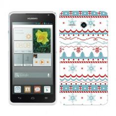 Husa Huawei Ascend Y530 Silicon Gel Tpu Model Model Craciun - Husa Telefon
