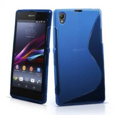 Husa SONY Xperia Z1 Silicon Gel Tpu S-Line Albastra