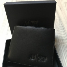 Portofel Armani Jean + cutie cadu - Portofel Barbati