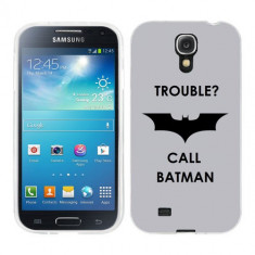 Husa Samsung Galaxy S4 i9500 i9505 Silicon Gel Tpu Model Batman - Husa Telefon