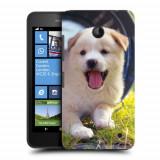 Husa Nokia Lumia 635 630 Silicon Gel Tpu Model Sweet Puppies - Husa Telefon
