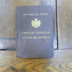 Permis de conducere 1927