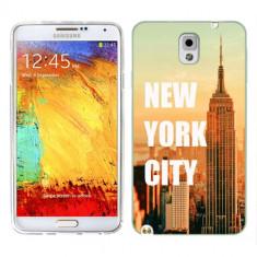 Husa Samsung Galaxy Note 3 N9000 N9005 Silicon Gel Tpu Model New York - Husa Telefon