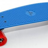 Penny Board - Skateboard - Pennyboard – Roti Silikon - ABEC7 - Axe Aluminiu -NOU