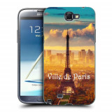 Husa Samsung Galaxy Note 2 N7100 Silicon Gel Tpu Model Paris