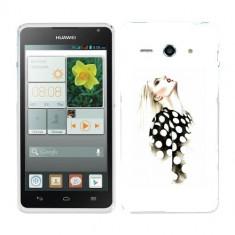 Husa Huawei Ascend Y530 Silicon Gel Tpu Model Women Draw V2 - Husa Telefon