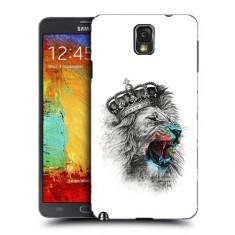 Husa Samsung Galaxy Note 3 N9000 N9005 Silicon Gel Tpu Model The King - Husa Telefon