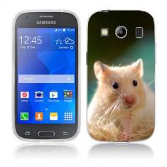 Husa Samsung Galaxy Ace 4 G357 Silicon Gel Tpu Model Hamster - Husa Telefon