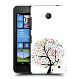 Husa Nokia Lumia 635 630 Silicon Gel Tpu Model Music Tree - Husa Telefon