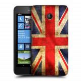 Husa Nokia Lumia 635 630 Silicon Gel Tpu Model UK Flag - Husa Telefon