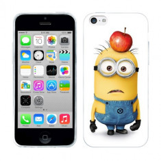 Husa iPhone 5C Silicon Gel Tpu Model Minions - Husa Telefon Apple