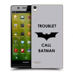 Husa Huawei Ascend P6 Silicon Gel Tpu Model Batman - Husa Telefon