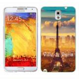 Husa Samsung Galaxy Note 3 N9000 N9005 Silicon Gel Tpu Model Paris