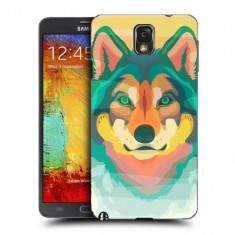Husa Samsung Galaxy Note 3 N9000 N9005 Silicon Gel Tpu Model Desen Lup