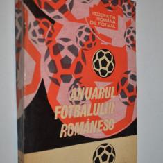 Anuarul fotbalului Romanesc, 1967 - 1969 - Carte sport