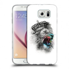 Husa Samsung Galaxy S7 Edge G935 Silicon Gel Tpu Model The King - Husa Telefon