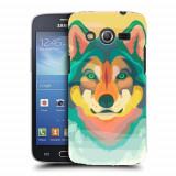 Husa Samsung Galaxy Core 4G LTE G386F Silicon Gel Tpu Model Desen Lup