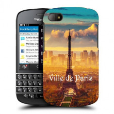 Husa BlackBerry Q10 Silicon Gel Tpu Model Paris - Husa Telefon