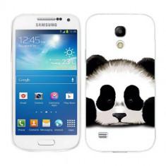 Husa Samsung Galaxy S4 Mini i9190 i9195 Silicon Gel Tpu Model Panda Trist - Husa Telefon