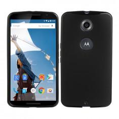 Husa Motorola Google Nexus 6 Silicon Gel Tpu Matte Neagra - Husa Telefon