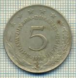 10673 MONEDA- YUGOSLAVIA - 5 DINARA -anul 1976 -STAREA CARE SE VEDE