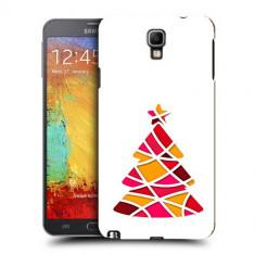 Husa Samsung Galaxy Note 3 Neo N7505 Silicon Gel Tpu Model Brad De Craciun Abstact - Husa Telefon
