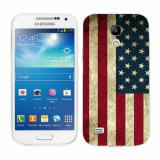 Husa Samsung Galaxy S4 Mini i9190 i9195 Silicon Gel Tpu Model USA Flag