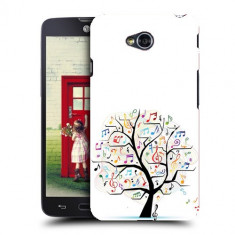 Husa LG L70 Silicon Gel Tpu Model Music Tree - Husa Telefon