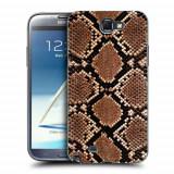 Husa Samsung Galaxy Note 2 N7100 Silicon Gel Tpu Model Animal Print Snake