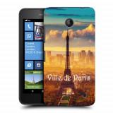 Husa Nokia Lumia 635 630 Silicon Gel Tpu Model Paris