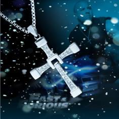 Pandantiv / Colier / Medalion Cruciulita Dominic Toretto Fast And Furious + lant - Pandantiv fashion