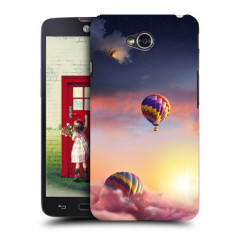 Husa LG L70 Silicon Gel Tpu Model Air Balloons - Husa Telefon
