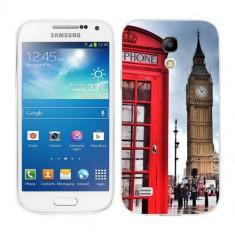 Husa Samsung Galaxy S4 Mini i9190 i9195 Silicon Gel Tpu Model London - Husa Telefon