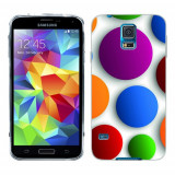 Husa Samsung Galaxy S5 G900 G901 Plus G903 Neo Silicon Gel Tpu Model Buline Colorate