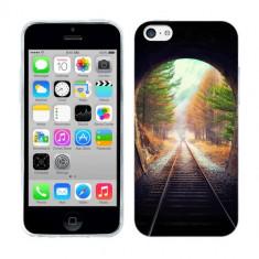 Husa iPhone 5C Silicon Gel Tpu Model Tunel, Apple