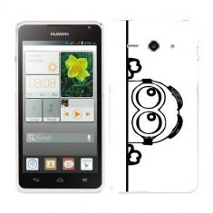 Husa Huawei Ascend Y530 Silicon Gel Tpu Model Lay Low Minion B&W - Husa Telefon