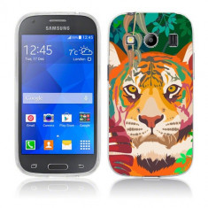 Husa Samsung Galaxy Ace 4 G357 Silicon Gel Tpu Model Desen Tigru - Husa Telefon