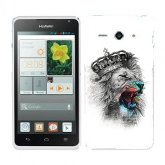 Husa Huawei Ascend Y530 Silicon Gel Tpu Model The King - Husa Telefon