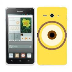 Husa Huawei Ascend Y530 Silicon Gel Tpu Model Big Eye Minion - Husa Telefon