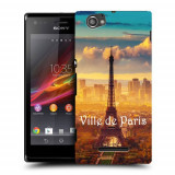 Husa SONY Xperia M C1905 Silicon Gel Tpu Model Paris