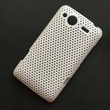Husa HTC Salsa G15 Plastic Perforat Vent Alba - Husa Telefon