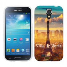 Husa Samsung Galaxy S4 i9500 i9505 Silicon Gel Tpu Model Paris - Husa Telefon