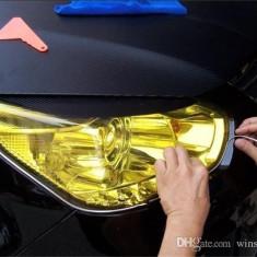 FOLIE FAR - STOP, FARURI STOPURI PROIECTOARE ORACAL GALBENA 1m X 0.60m AL-FOL - Folii Auto tuning