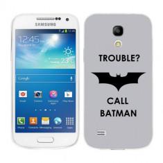 Husa Samsung Galaxy S4 Mini i9190 i9195 Silicon Gel Tpu Model Batman - Husa Telefon