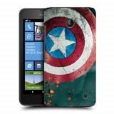 Husa Nokia Lumia 635 630 Silicon Gel Tpu Model Captain America