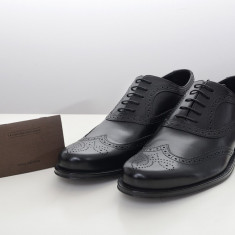 Pantofi Louis Vuitton marime 44.5 Negru - Pantofi barbat
