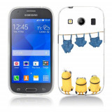 Husa Samsung Galaxy Ace 4 G357 Silicon Gel Tpu Model Naked Minions